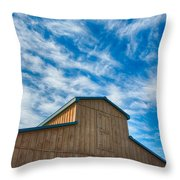 Fenwick Barn  7p01967 Throw Pillow