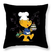Ferald's Goodies Throw Pillow