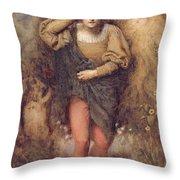 Ferdinand And Ariel, 1880 Throw Pillow