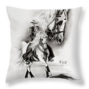 Feria II Throw Pillow