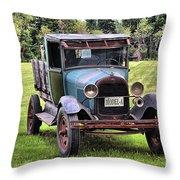 Ferland's Model-a_1136 Throw Pillow