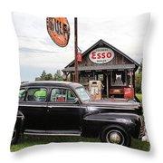 Ferland's_1142 Throw Pillow