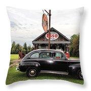 Ferland's_1143 Throw Pillow