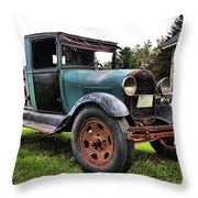 Ferland's_1154 Throw Pillow