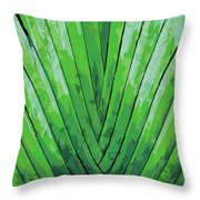 Fern - Color Marker Throw Pillow