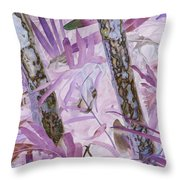 Fern Forest Throw Pillow