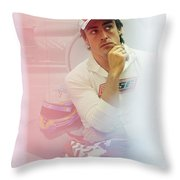 Fernando Alonso 3 Throw Pillow