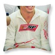 Fernando Alonso Throw Pillow