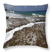 Fernando De Noronha Island Brazil 3 Throw Pillow