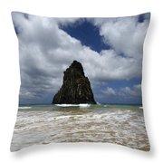 Fernando De Norronha Island Brazil 7 Throw Pillow