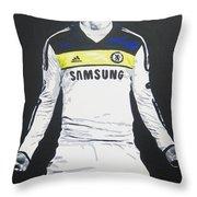 Fernando Torres - Chelsea Fc Throw Pillow