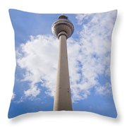 Fernsehturm Berlin Throw Pillow