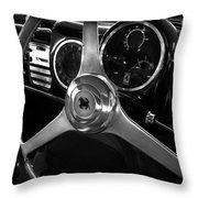 Ferrari 166 Interior Throw Pillow