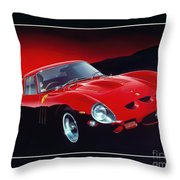 Ferrari 250 Gto Throw Pillow