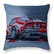 Ferrari 250gto Throw Pillow