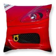 Ferrari 360 Throw Pillow