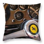 Ferrari Dash Throw Pillow