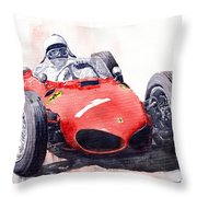 Ferrari Dino 156 F1 1961  Throw Pillow