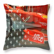 Ferrari Formula One Throw Pillow