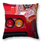 Ferrari Gto 288 Taillight -0631c Throw Pillow