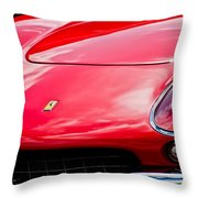 Ferrari Hood Emblem -0390c Throw Pillow