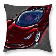 Ferrari Throw Pillow