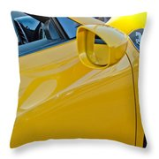 Ferrari Side Emblem Throw Pillow