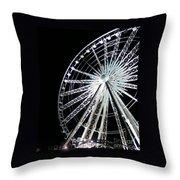 Ferris Wheel 1 Throw Pillow