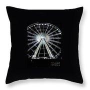 Ferris Wheel 10 Throw Pillow