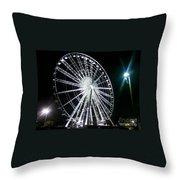 Ferris Wheel 11 Throw Pillow