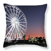 Ferris Wheel 16 Throw Pillow