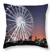 Ferris Wheel 19 Throw Pillow