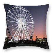 Ferris Wheel 22 Throw Pillow
