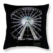 Ferris Wheel 7 Throw Pillow