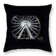 Ferris Wheel 8 Throw Pillow