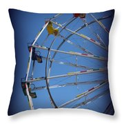 Ferris Wheel II Throw Pillow