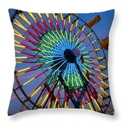 Ferris Wheel, Kentucky State Fair Throw Pillow