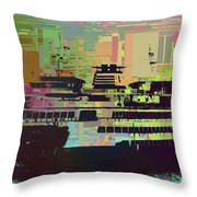 Ferry Cubed 2 Throw Pillow