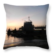 Ferry Landing 23 Throw Pillow