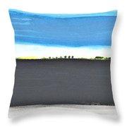 Fertile Field Throw Pillow