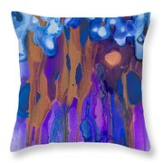 Fertile Forest Throw Pillow