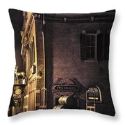 Festhalle Nocturne Throw Pillow
