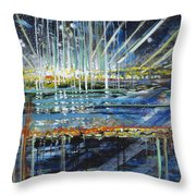 Festival On The Waterfront Throw Pillow