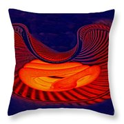 Fetal Light Form Throw Pillow
