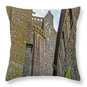 Feudal Canyon Throw Pillow