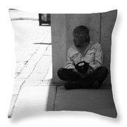 Few Cents More  Throw Pillow