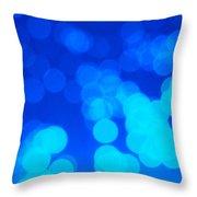 Fibre Optics Throw Pillow