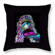 Fiddler In The Band Electric Throw Pillow