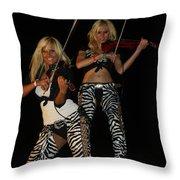 Fiddlers Throw Pillow