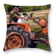 Field Guide Throw Pillow by Molly Poole